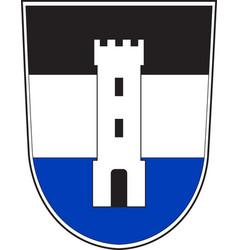 Coat of arms of neu-ulm in swabia in bavaria vector