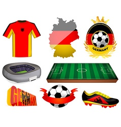 Germany soccer vector