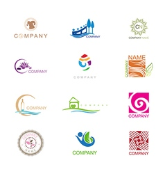 Logo Design Collection vector image