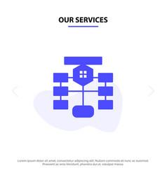 Our services flowchart flow chart data database vector