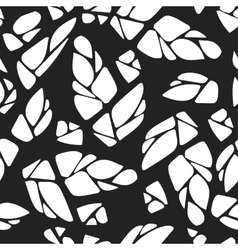 seamless pattern with cones hops vector image