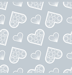 valentines day print love print abstract lace vector image