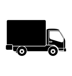 delivery truck pictogram icon image vector image