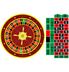roulette vector image vector image
