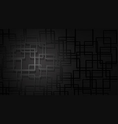 abstract background of intersecting squares vector image