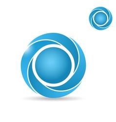 Big segmented circle vector