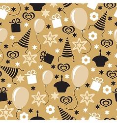 Birthday pattern vector