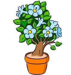 Bonsai tree vector