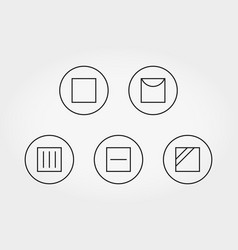 Care of clothes drying icon line vector
