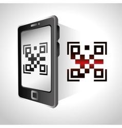 digital code design vector image