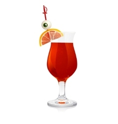 Halloween drink vector