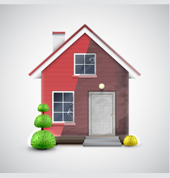 home renewal vector image