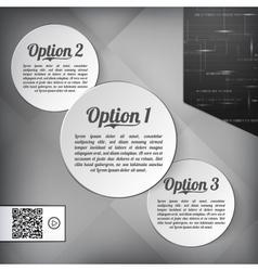 Option vector image
