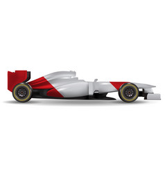 realistic race car vector image