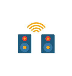 Smart speaker icon simple element from vector