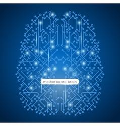Circuit Motherboard vector image