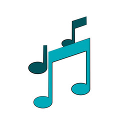 music notes icon image vector image vector image