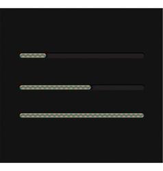 Abstract loading bar vector image