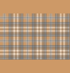 Platinum and gold check fabric texture seamless vector