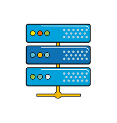 Digital router to connect data center vector