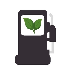ecology fuel isolated icon vector image