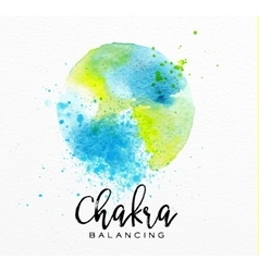 Beauty natural spa chakra vector