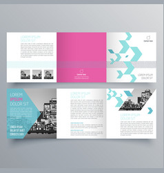 brochure design 1056 vector image