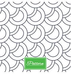 Circles stripped geometric seamless pattern vector