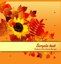 cute poster greeting card with text and modern vector image