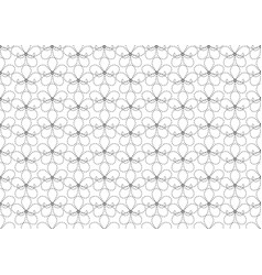 Flower pattern seamless wallpaper vector