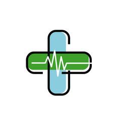 Medical logo concept and idea vector