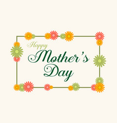 Mother day background style vector