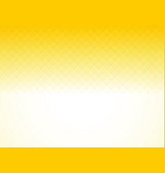 slightly yellow square background vector image
