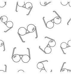 Sunglass seamless pattern background business vector