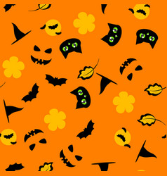 holiday background for halloween vector image
