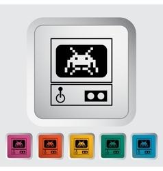 Retro Arcade Machine vector image