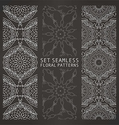 Seamless Islamic background vector image