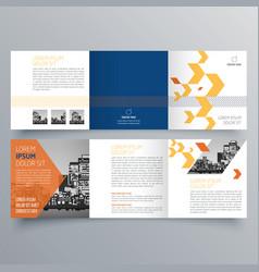brochure design 1061 vector image