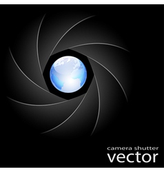 Camera shutter vector