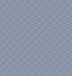 Diagonal meander style pattern - greek waves vector