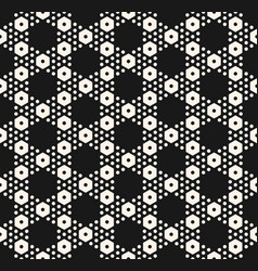 geometric seamless pattern with big and small vector image