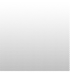 gray dots gradient on white background vector image