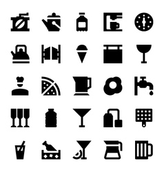 Hotel Services Icons 7 vector