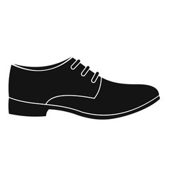 men shoe icon simple vector image