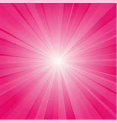 pink ray background vector image