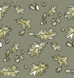 soft trendy colors natural foliage background vector image