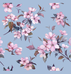 spring blossom pattern vector image