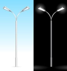 streetlight vector image