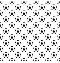 black football ball on white background vector image