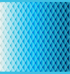 blue tiled rhombus pattern vector image vector image